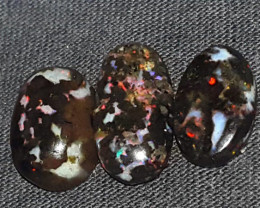 12.00 CRT FLORAL RIBBON PATTERN SPECIMENT INDONESIAN OPAL WOOD FOSSIL