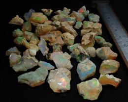 200cts Nice Rough Random Opal Rough Parcel  Estayish Mines Ethiopia NR Lot