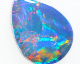 Australian made Fire  Opal Doublet OPJ 2620
