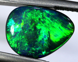 2.71 CTS L.RIDGE  OPAL DOUBLET  ON BLACK  POTCH STONE TBO-A266