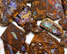 Parcel Boulder Koroit Opal Rubs  WS 1733