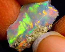 4.35Ct Multi Color Play Ethiopian Welo Opal Rough G2218