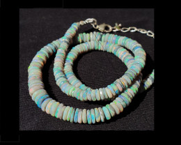 Green Shades Opal Bead #8