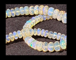 Faceted Opal Beads #1