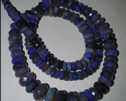 Dark Blue Opal Bead #4