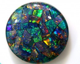 26.30CTS - TOP  QUALITY MOSAIC TRIPLET    LO-5647