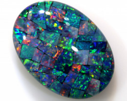 20.30 CTS - TOP  QUALITY MOSAIC TRIPLET    LO-5649