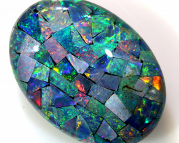 24.90 CTS - TOP  QUALITY MOSAIC TRIPLET    LO-5650