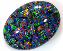 17.90 CTS - TOP  QUALITY MOSAIC TRIPLET    LO-5651