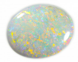 Private aution 2.25 Cts White Fire  Coober pedy  opal  OPJ 2632