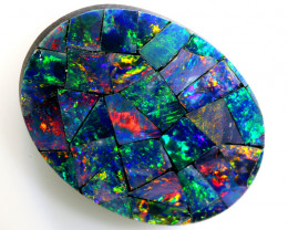 5.80-CTS  QUALITY MOSAIC  DOUBLET LO-5665