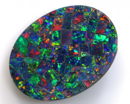 5.80-CTS  QUALITY MOSAIC  DOUBLET LO-5668
