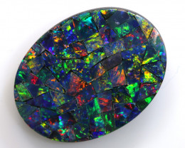 5.80-CTS  QUALITY MOSAIC  DOUBLET LO-5669