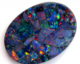 8.95-CTS  QUALITY MOSAIC  DOUBLET LO-5675