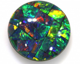 3.50CTS -   QUALITY MOSAIC TRIPLET    LO-5682