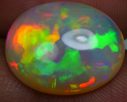 6.00 CRT AMAZING PERFECT PUZZLE PATTERN RAINBOW COLOR WELO OPAL*K87