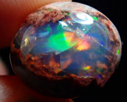 7.14ct. Mexican Matrix Cantera Multicoloured Fire Opal