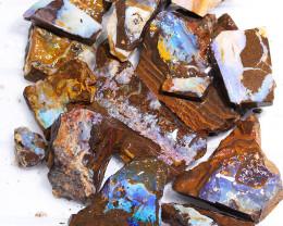 1/2 kilo Parcel Boulder Opal Rough  Rubs  WS 1806