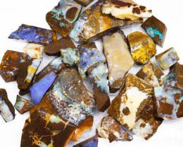 1/2 kilo Parcel Boulder Opal Rough  Rubs  WS 1815