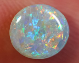 1.20 ct SOLID DARK OPAL LIGHTNING RIDGE GEM $1 N/R AUCTION SBCA211219