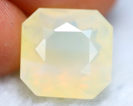 Fire Opal 6.05Ct Natural Yellow Color Mexican Fire Opal G2419