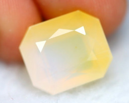 Fire Opal 4.92Ct Natural Yellow Color Mexican Fire Opal G2422