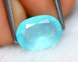 Paraiba Opal 1.22Ct Natural Peruvian Seaform Paraiba Blue Opal GN12