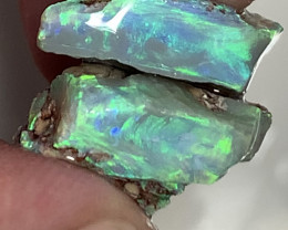 STUNNING PAIR OF ROUGH OPALS #2567