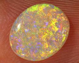 1.25ct 10x8.5mm Solid Lightning Ridge Crystal Opal [LO-1990]