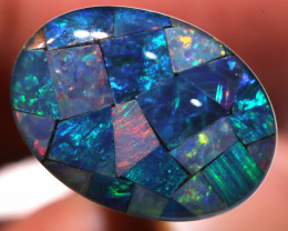 7.40CTS - TOP  QUALITY MOSAIC TRIPLET    LO-5711