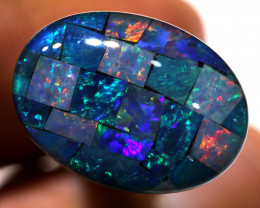 7.40CTS - TOP  QUALITY MOSAIC TRIPLET    LO-5713