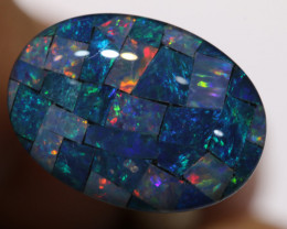 7.40CTS - TOP  QUALITY MOSAIC TRIPLET    LO-5727