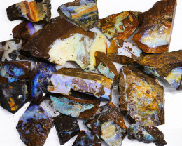 1/2 kilo Parcel Boulder Opal Rough  Rubs  WS 1817