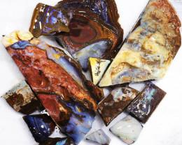 1/2 kilo Parcel Boulder Opal Rough  Rubs  WS 1818