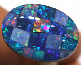 7.40CTS - TOP  QUALITY MOSAIC TRIPLET    LO-5730