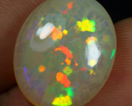 7.65cts Cell Honeycomb Pattern Natural Ethiopian Welo Opal