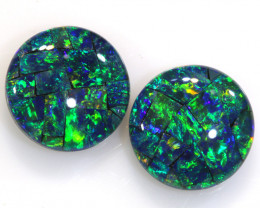 4.60 CTS - A GRADE  QUALITY MOSAIC TRIPLET PAIR  LO-5751
