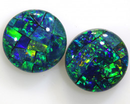4.60 CTS - A GRADE  QUALITY MOSAIC TRIPLET PAIR  LO-5753