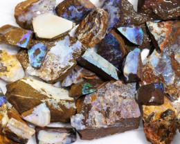 1 Kilo Parcel Boulder Opal Rough  Rubs  WS 1827
