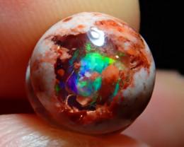 4.01ct Mexican Matrix Cantera Multicoloured Fire Opal