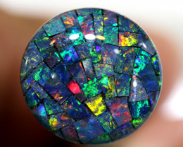3.80 CTS - A GRADE  QUALITY MOSAIC TRIPLET  LO-5786