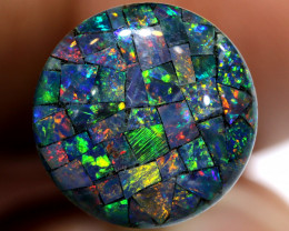 3.80 CTS - A GRADE  QUALITY MOSAIC TRIPLET  LO-5787