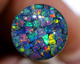 3.80 CTS - A GRADE  QUALITY MOSAIC TRIPLET  LO-5793