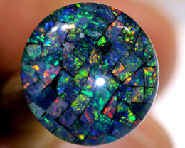 3.80 CTS - A GRADE  QUALITY MOSAIC TRIPLET  LO-5801