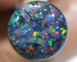 3.80 CTS - A GRADE  QUALITY MOSAIC TRIPLET  LO-5804