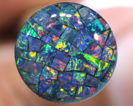 3.80 CTS - A GRADE  QUALITY MOSAIC TRIPLET  LO-5808