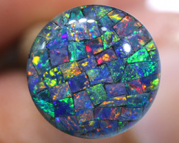 3.80 CTS - A GRADE  QUALITY MOSAIC TRIPLET  LO-5810