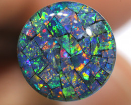 3.80 CTS - A GRADE  QUALITY MOSAIC TRIPLET  LO-5812