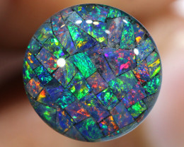 3.80 CTS - A GRADE  QUALITY MOSAIC TRIPLET  LO-5820