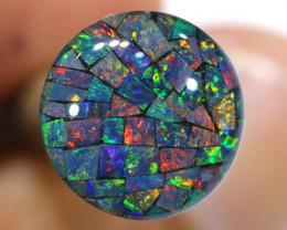 3.80 CTS - A GRADE  QUALITY MOSAIC TRIPLET  LO-5825
